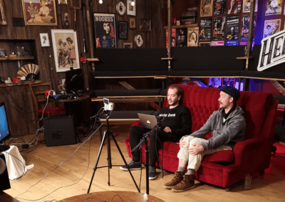 Heldeke TV with Richard and Dan livestreaming