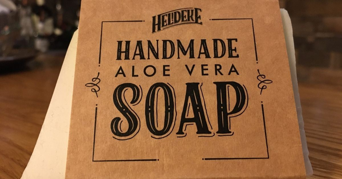 Heldeke! Aloe Vera Handmade Soap