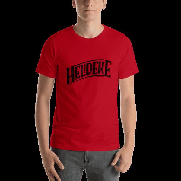 Heldeke t-shirt red