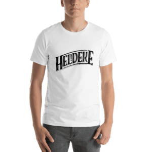 Heldeke t-shirt white