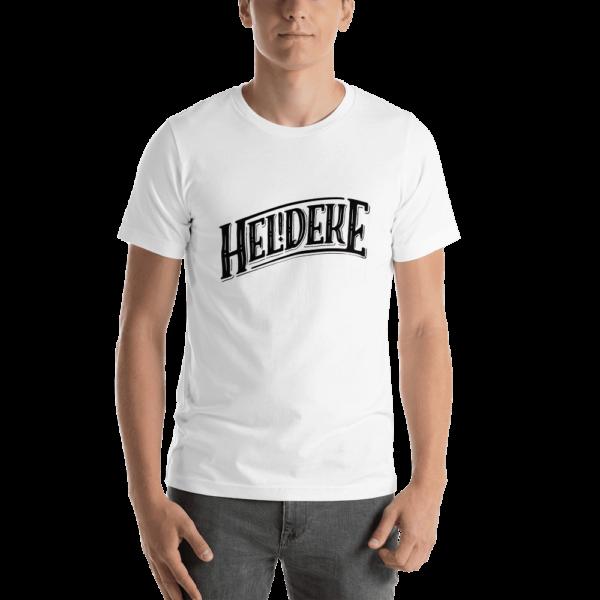 Heldeke t-shirt white
